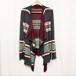 Staccato tribal cardigan. Size Small.